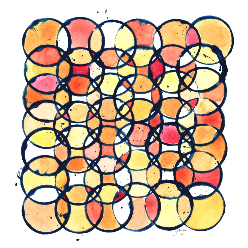 Circles - A Study in Warm