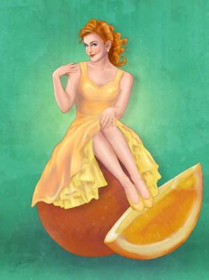 Retro Citrus