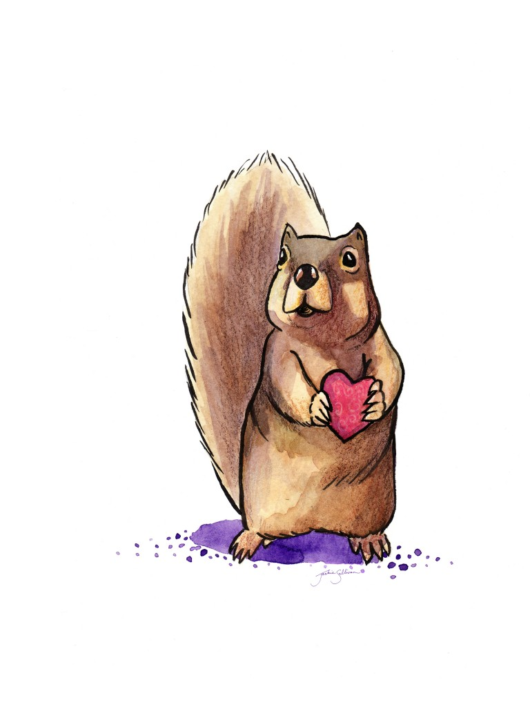 Squirrel Loves You