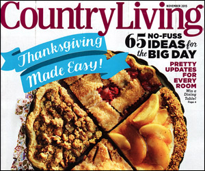 Country Living – November 2015