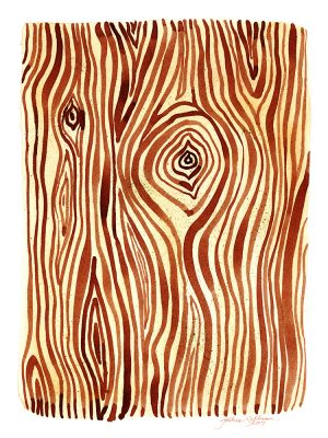Woodgrain Watercolor